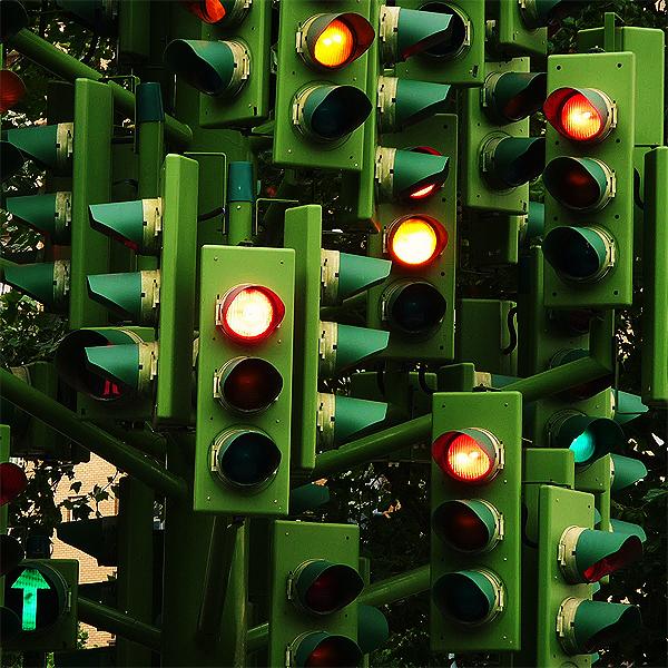 Sygnalizacja świetlna Green Light Sygnalizacja świetlna